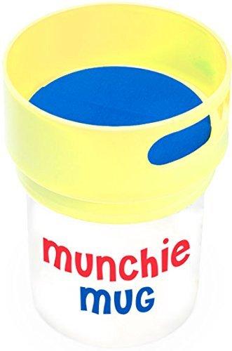 Munchie Mug Snack Cup 16 OZ Yellow