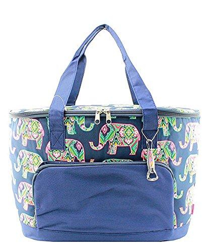 Ngil Insulated Elephant Navy Cooler Bag